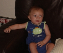 My nephew Jake, three months old and already cuter than me