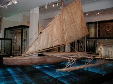 Melanesian Outrigger Canoe